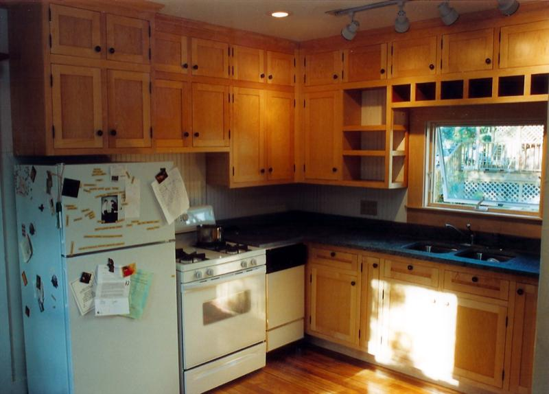 Maple kitchen