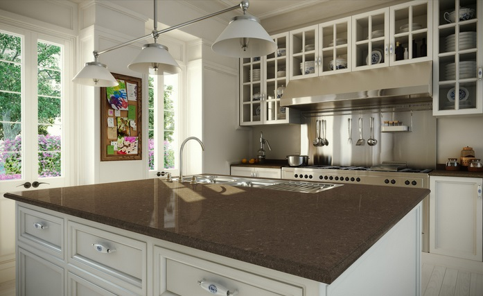 Quartz surfacing countertops